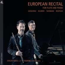 Jürgen Franz & Henning Lucius - European Recital, CD