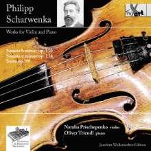 Philipp Scharwenka (1847-1917): Violinsonaten op.110 & 114, CD