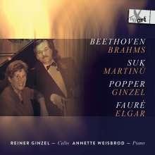 Reiner Ginzel, Cello, CD