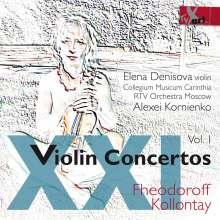 Nikolaus Fheodoroff (1931-2011): Konzert für Violine,Streicher & Pauken, CD