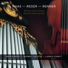 Joseph Haas (1879-1960): Werke für Violine & Orgel, CD