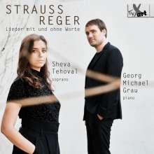Sheva Tehoval & Georg Michael Grau - Lieder mit und ohne Worte, CD