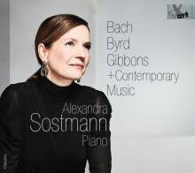 Alexandra Sostmann - Bach, Byrd, Gibbons + Contemporary Music, CD