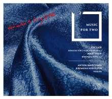 Jean Marie Leclair (1697-1764): Sonaten für 2 Violinen op.3, CD