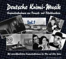 Filmmusik: Deutsche Krimi-Musik Vol. 1, CD