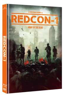Redcon-1 - Army of the Dead (Blu-ray & DVD im Mediabook), 1 Blu-ray Disc und 1 DVD