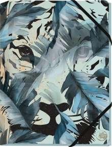 Save the Tiger Mini-Sammelmappe Motiv Tiger im Dschungel, Diverse