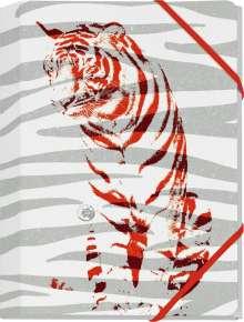Save the Tiger Mini-Sammelmappe Motiv Roter Tiger, Diverse