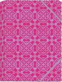 Der Zauber Indiens Mini-Sammelmappe Motiv Pinke Schneekristalle, Diverse