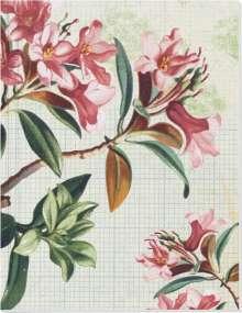 Die Gärten der Künstler Großes Notizheft (A5) Motiv Blütenstrauch, Diverse