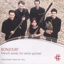 Antares Quintett - Bonjour! (French works for wind quintet), CD