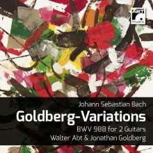 Johann Sebastian Bach (1685-1750): Goldberg-Variationen BWV 988 für zwei Gitarren, CD