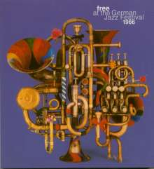 Jazz Sampler: Free At The German Jazz Festival 1966, 2 CDs