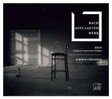 Johann Sebastian Bach (1685-1750): Lautenwerke BWV 995-999,1001,1006, 2 CDs