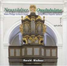 Harald Wießner - Neustädter Orgeltabulatur, CD