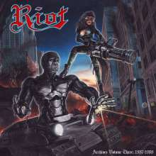 Riot: Archives Volume Three: 1987 - 1988 (Blood-Red Vinyl), 2 LPs