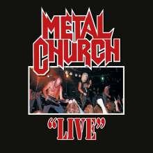 Metal Church: Live (Translucent Blood-Red Vinyl), LP