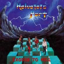Helvetets Port: Exodus To Hell (Blue Vinyl), 2 LPs