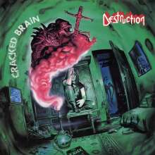 Destruction: Cracked Brain (+Poster) (Green Vinyl), LP