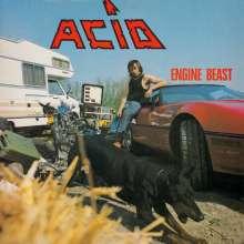 "Acid (Metal): Engine Beast (Limited Edition) (Electric Blue Vinyl), 1 LP und 1 Single 7"""