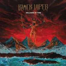 Black Viper: Hellions Of Fire (Splatter Vinyl), 1 LP und 1 Single 10""