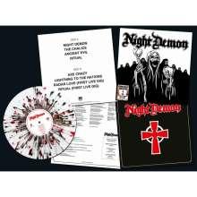 Night Demon: Night Demon (White/Red/Black Splatter Vinyl), LP