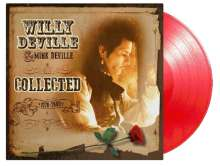 Willy DeVille: Collected (180g) (Limited-Numbered-Edition) (Red Vinyl), 2 LPs
