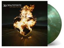 36 Crazyfists: Rest Inside The Flames (180g) (Limited-Numbered-Edition) (Gold, White & Translucent Green Mixed Vinyl), LP
