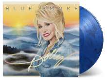 Dolly Parton: Blue Smoke (180g) (Limited-Numbered-Edition) (Translucent Blue & Black Mixed Vinyl), LP