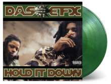 Das EFX: Hold It Down (180g) (Limited-Numbered-Edition) (Green Marbled Vinyl), 2 LPs