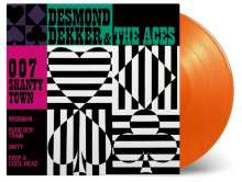 Desmond Dekker: 007 Shanty Town (180g) (Limited-Numbered-Edition) (Orange Vinyl), LP