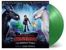 Filmmusik: How To Train Your Dragon 3 - The Hidden World (180g) (Limited-Numbered-Edition) (Dragon-Green Vinyl) für 31,99€