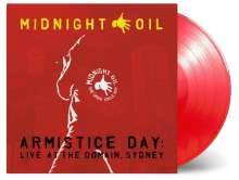 Midnight Oil: Armistice Day: Live At The Domain, Sydney 2017 (180g) (Limited-Numbered-Edition) (Translucent Red Vinyl), 3 LPs
