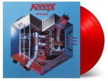 Accept: Metal Heart (180g) (Limited Numbered Edition) (Translucent Red Vinyl), LP