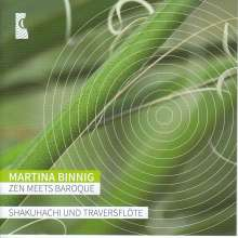 Martina Binnig - Zen Meets Baroque, CD