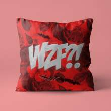 Das Lumpenpack: WZF?! (Limited Edition) (Red Vinyl)  (+ Kissenbezug), Single 7""
