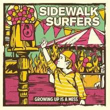 Sidewalk Surfers: Growing Up Is Mess (Limited Edition) (Turquoise Vinyl), LP