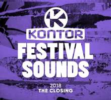 Kontor Festival Sounds 2018: The Closing, 3 CDs