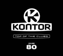 Kontor: Top Of The Clubs Vol. 80, 4 CDs