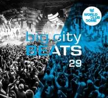 Big City Beats 29 (World Club Dome-Edition), 3 CDs
