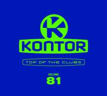 Kontor Top Of The Clubs Vol. 81, 4 CDs