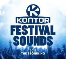 Kontor Festival Sounds 2019: The Beginning, 3 CDs