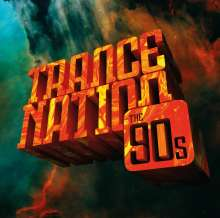 Trance Nation: The 90s (Limited-Edition), 4 LPs