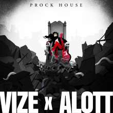 Vize & Alott: Prock House (Limited Edition) (Red Vinyl), 1 LP und 1 CD