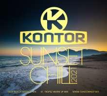 Kontor Sunset Chill 2021, 3 CDs