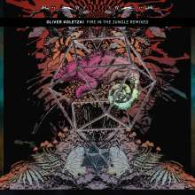 "Oliver Koletzki: Fire In The Jungle Remixed (Limited Edition) (Multicolored Vinyl), Single 12"""