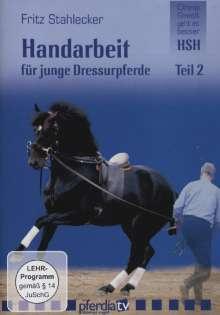 Handarbeit für junge Dressurpferde 2, DVD