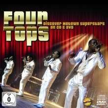 Four Tops: Discover Motown Superstars on CD & DVD, 1 CD und 1 DVD