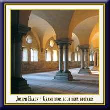 Francois de Fossa (1775-1849): Grand Duos für 2 Gitarren (nach J.Haydn), CD