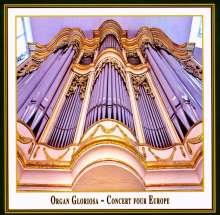 Organ Gloriosa - Concert Four Europe, CD